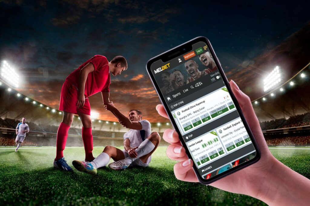 Melbet app for mobile device for betting