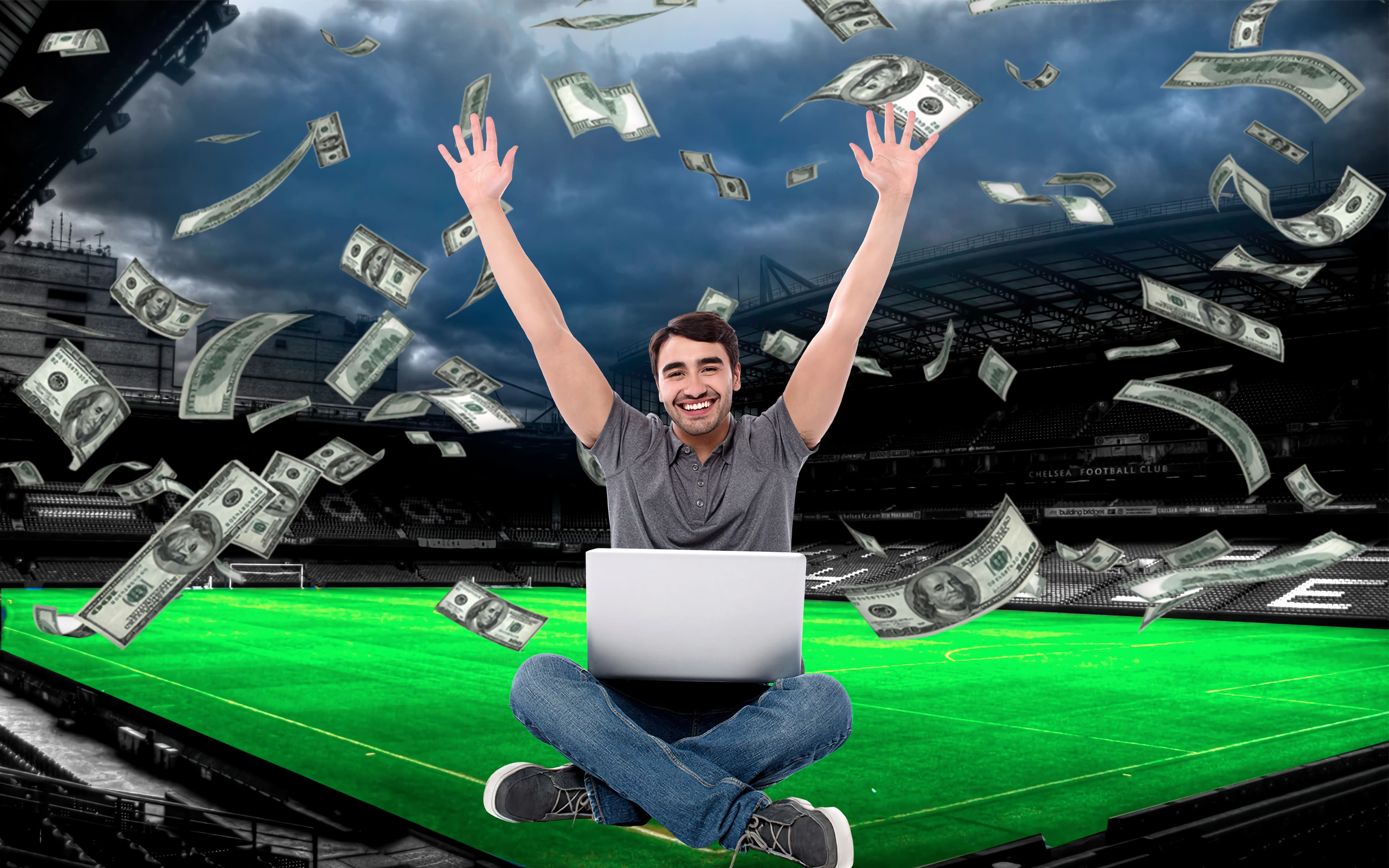 Big chance and win with reliable bookmaker